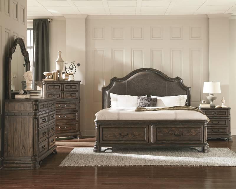 Carlsbad Rustic Bedroom Set With Storage Bed
