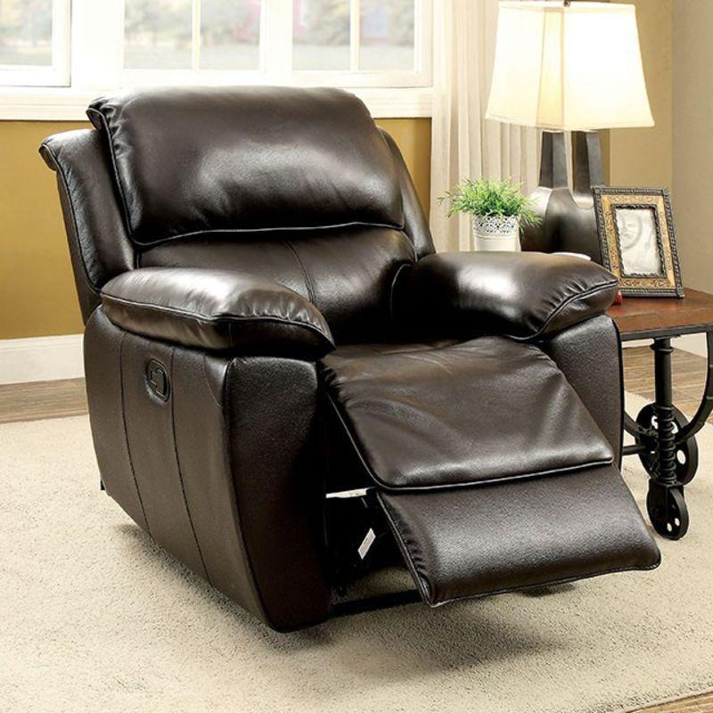 Keara Reclining Leather Living Room Set