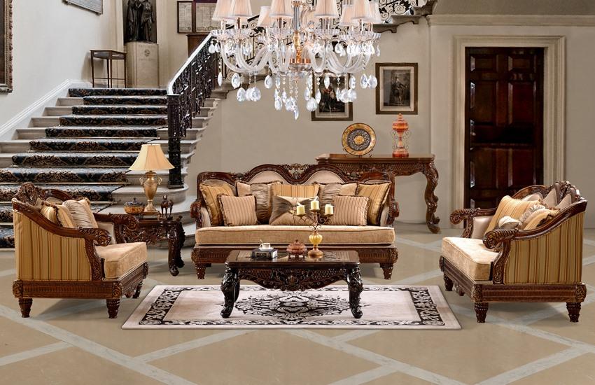 Pomona Formal Living Room Set Von Furniture