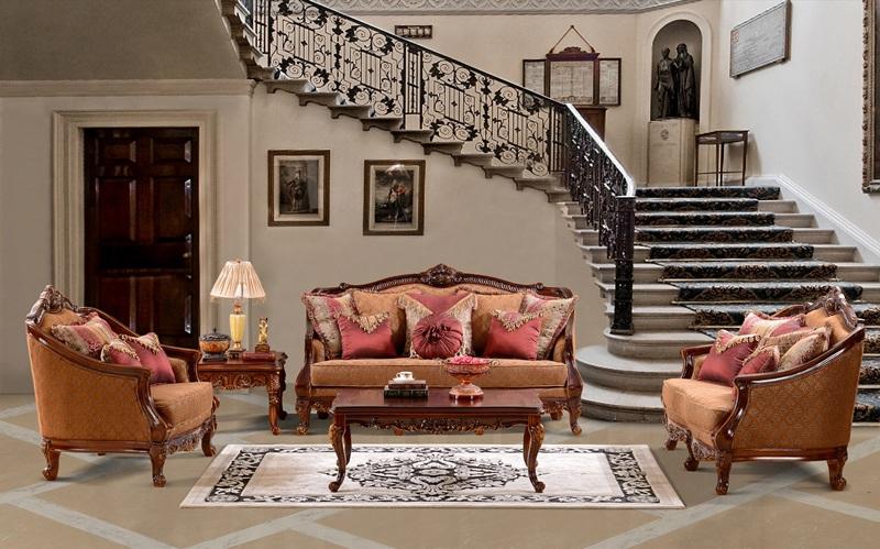claremont formal living room set von furniture