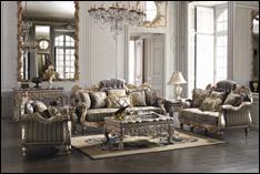 Living Room Chandler on Aspen Light White Wash Formal Living Room Set   Von Furniture