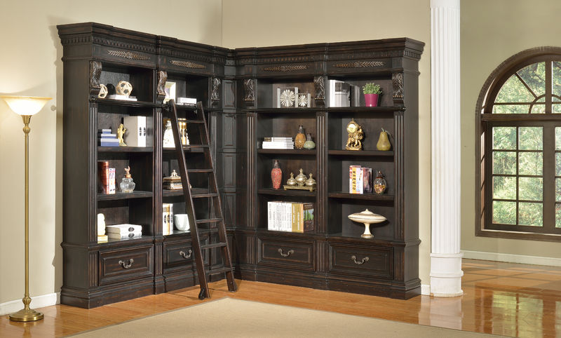 Palazzo Museum Corner Bookcase - Large