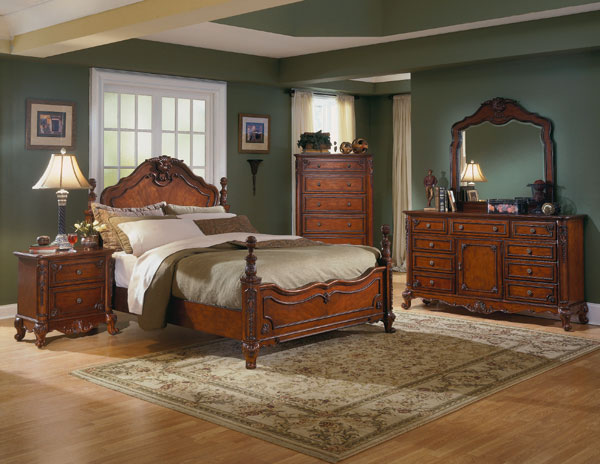 Baton Rouge Cherry Bedroom Set The Baton Rouge Bedroom Furniture Set
