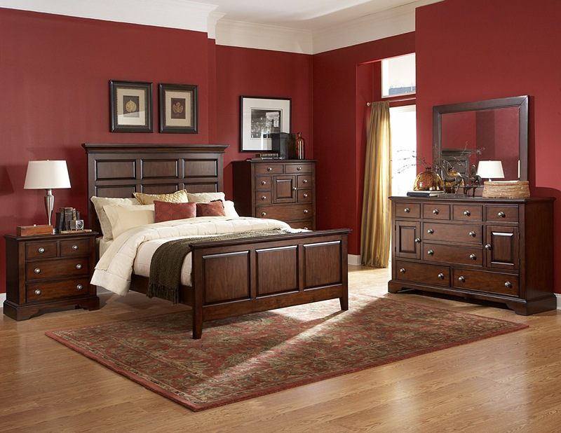 Caldwell Traditional American Bedroom Set Von Furniture