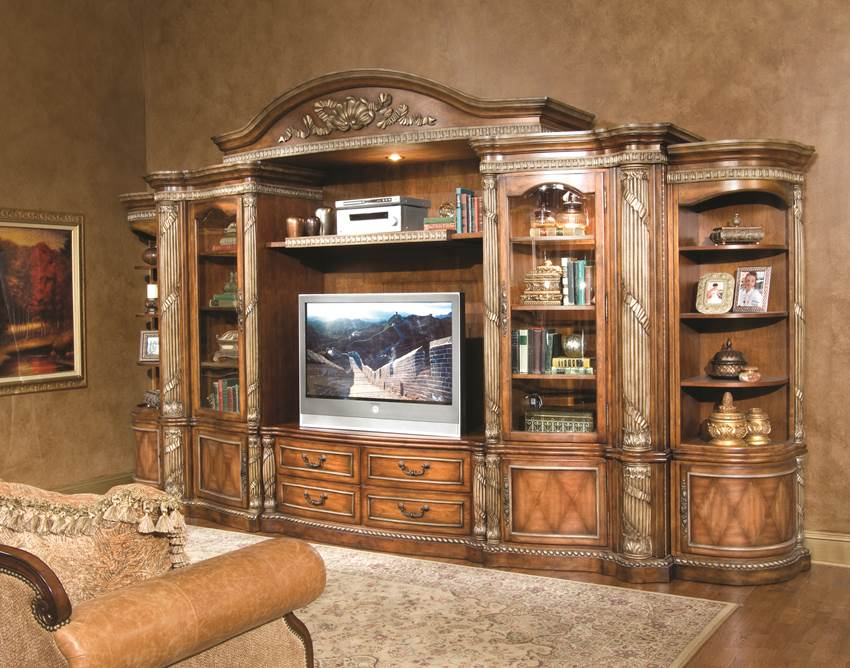 Large Entertainment Center Wall Unit Clearance and Free