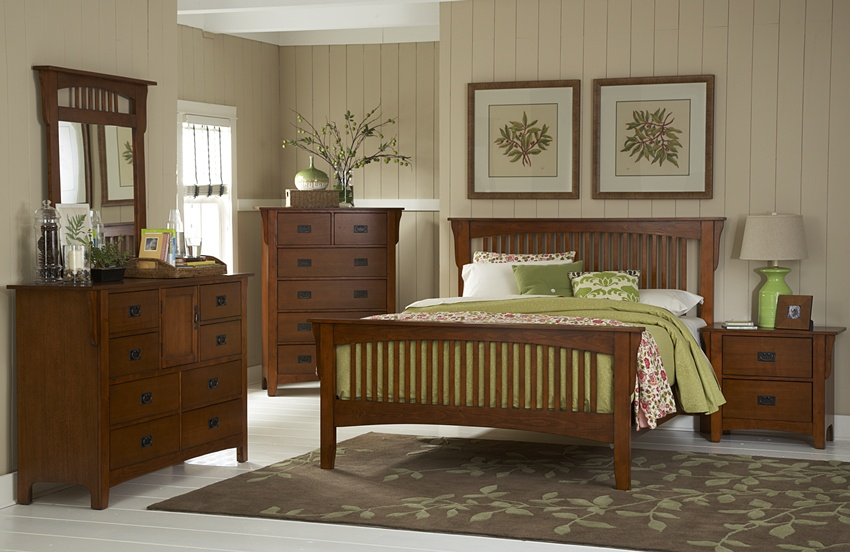 Catalog of home furniture sets von furniture for Mission style bedroom furniture