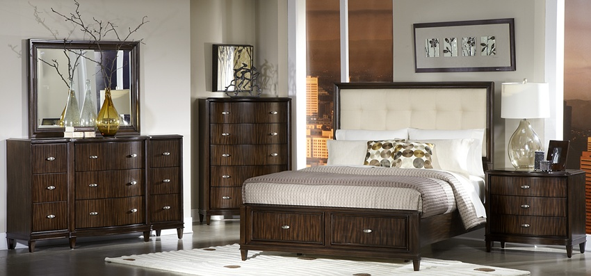 Hesston Art Deco Bedroom Set The Hesston Bedroom Set Is Art Deco Retro