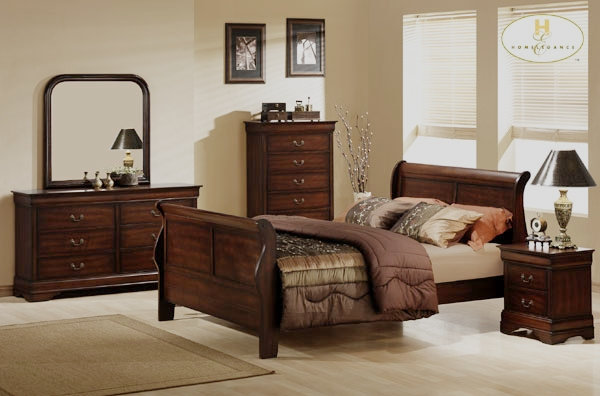 spokane traditional bedroom set with sleigh bed von furniture