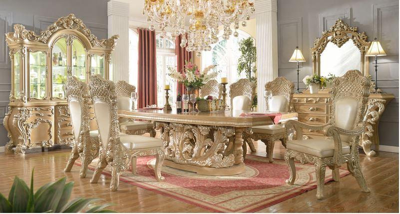 482872 Acacia Formal Dining Room Set Von Furniture Free Shipping