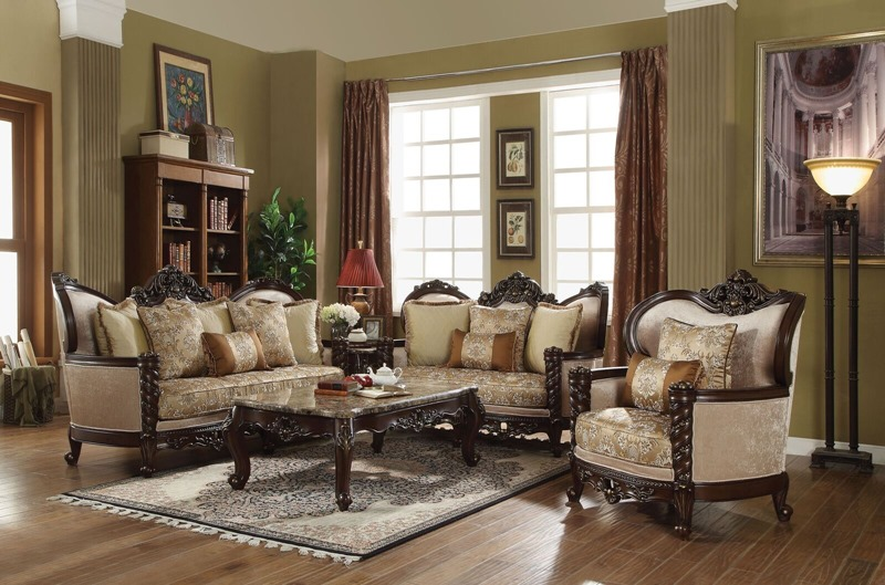 Devayne Formal Living Room Set