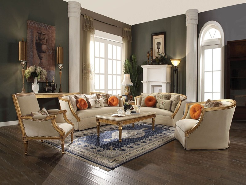 Daesha Formal Living Room Set