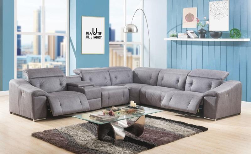 Hosta Reclining Sectional Sofa
