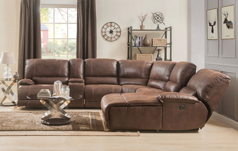 53075 Hibiscus Sectional | Acme Furniture | Free Shipping