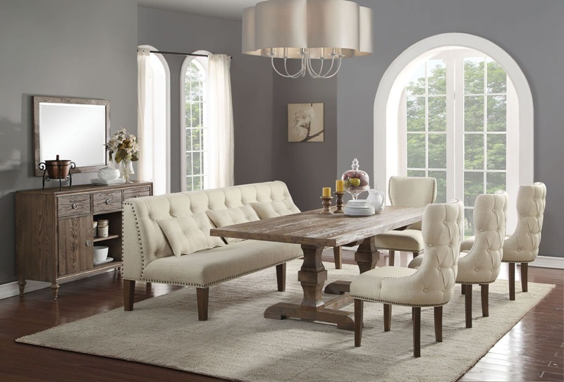 66080 Inverness Dining Set Acme Furniture Free Shipping