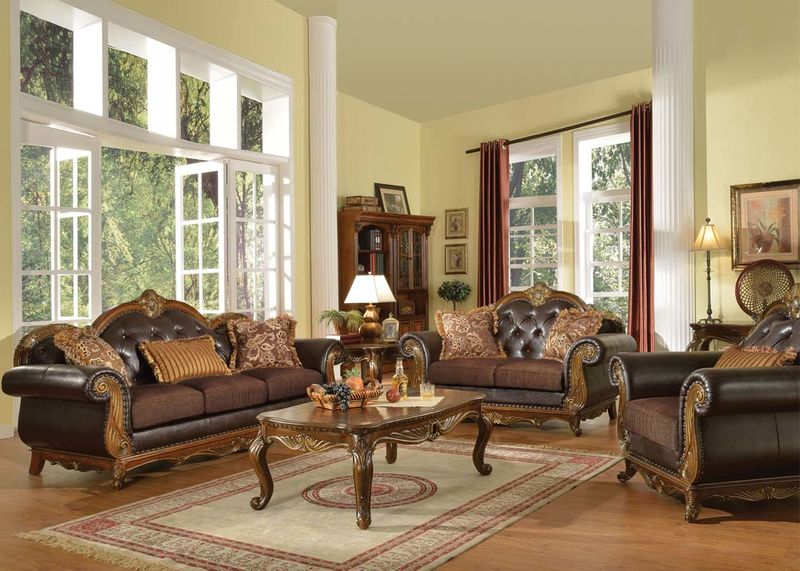 Von Furniture | Dorothea Formal Living Room Set