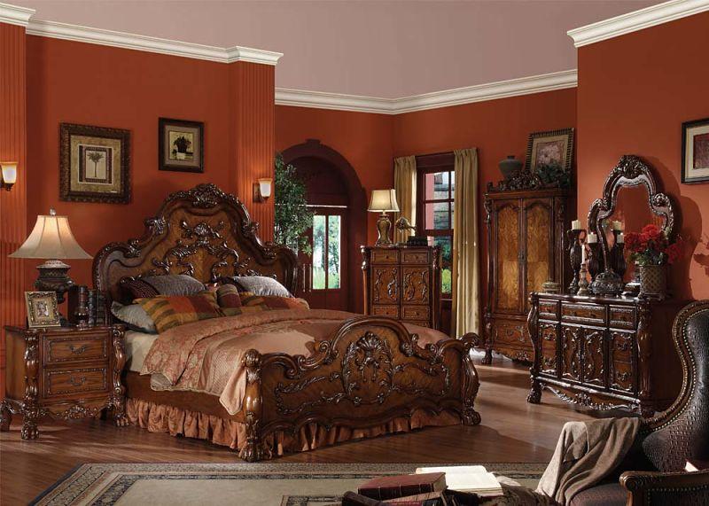 Dresden Bedroom Set in Cherry