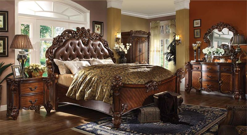 Von Furniture Vendome Bedroom Set In Cherry