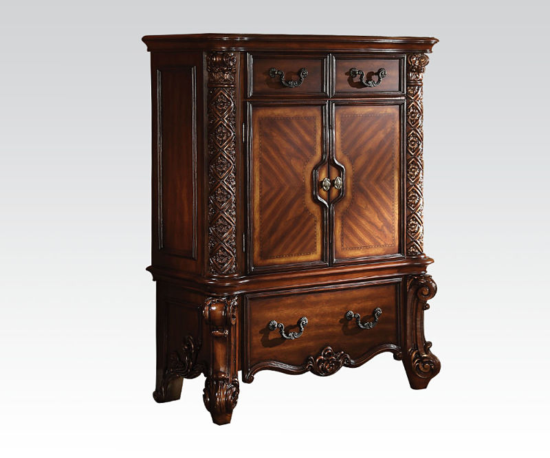 Exceptional Vendome Bedroom Set In Cherry