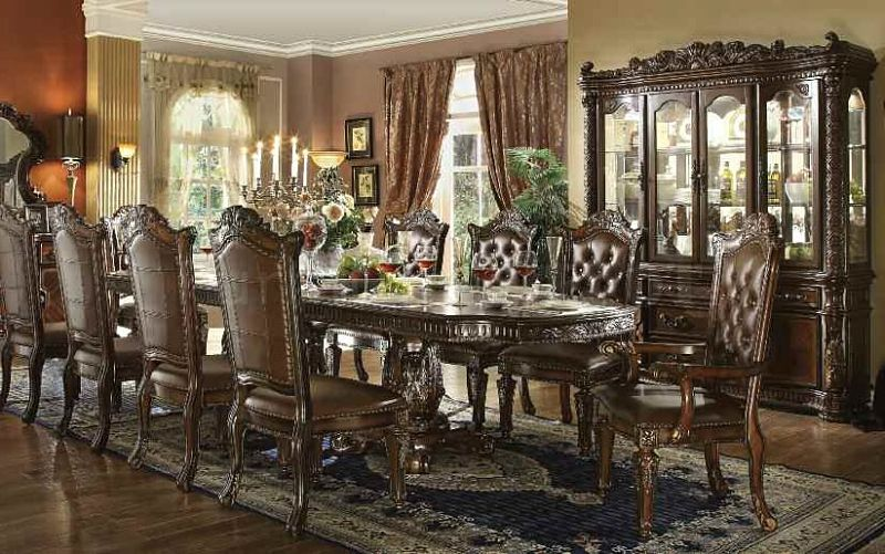62000 Vendome Large Formal Dining Room Set In Cherry