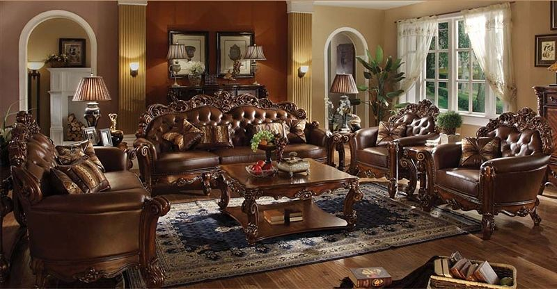 von furniture vendome formal living room set in cherry