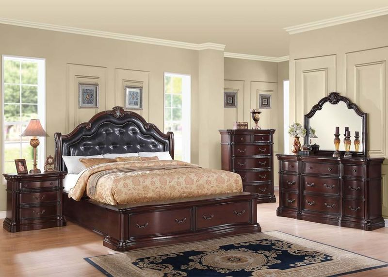Veradisia Bedroom Set with Storage Bed