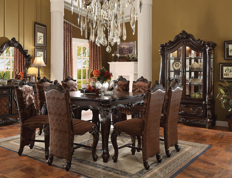 Versailles Counter Height Dining Room Set in Cherry