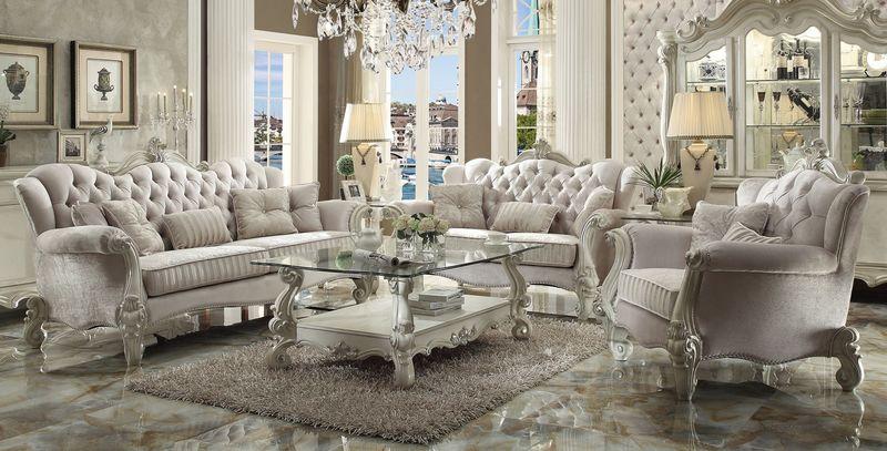 52105 Versailles Ivory Sofa Set | Acme Furniture | Free Shipping