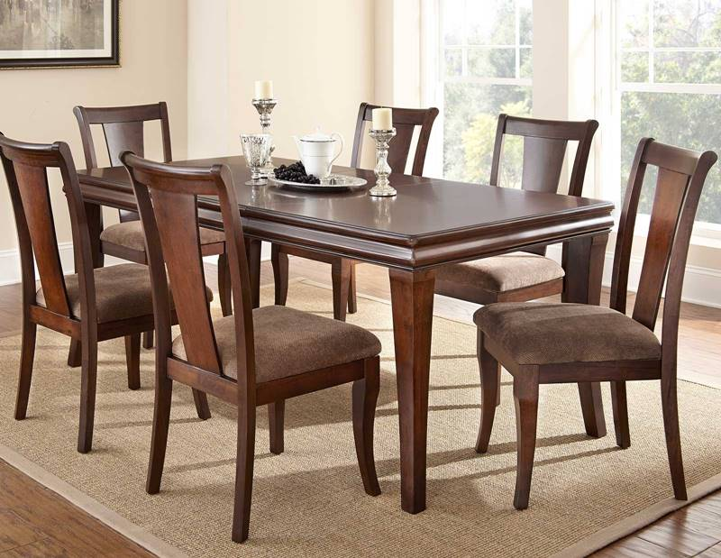 dacoma affordable dining room table set free shipping