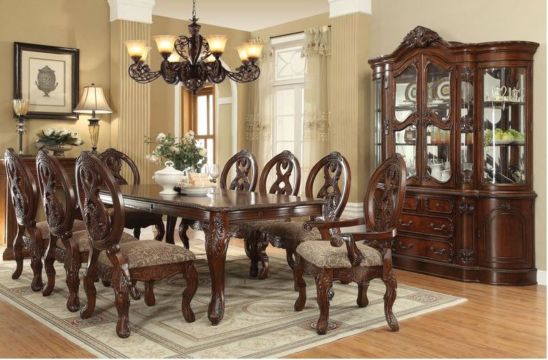 Bristol Formal Dining Room Set with Leg Table