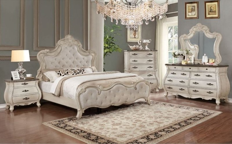 Pleasing B1000 Ashley Weathered White Master Bedroom Set Free Shipping Free Sales Tax Home Interior And Landscaping Mentranervesignezvosmurscom