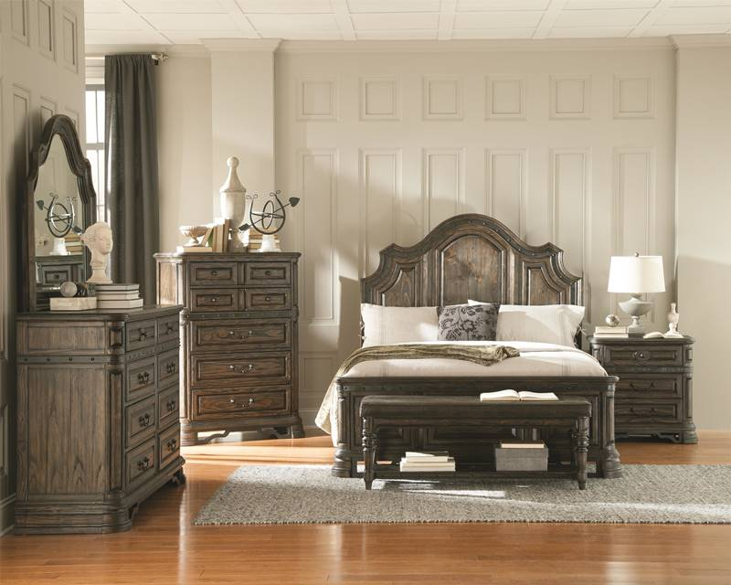 carlsbad rustic bedroom set