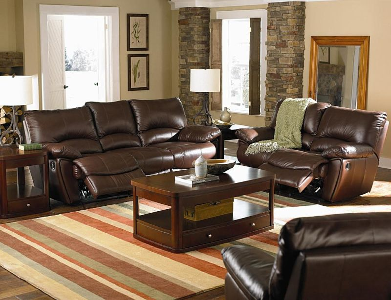 Clifford Reclining Leather Living Room Set. Von Furniture   Clifford Reclining Leather Living Room Set