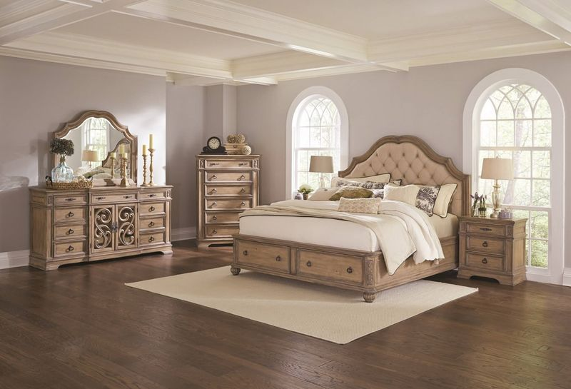 Ilana Bedroom Set with Storage Bed