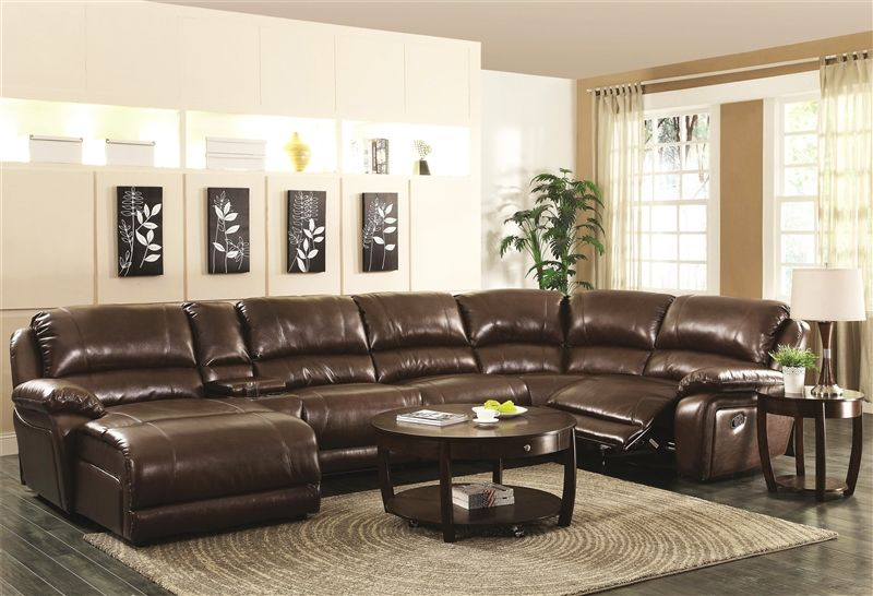 Mackenzie Reclining Living Room Set in Chestnut