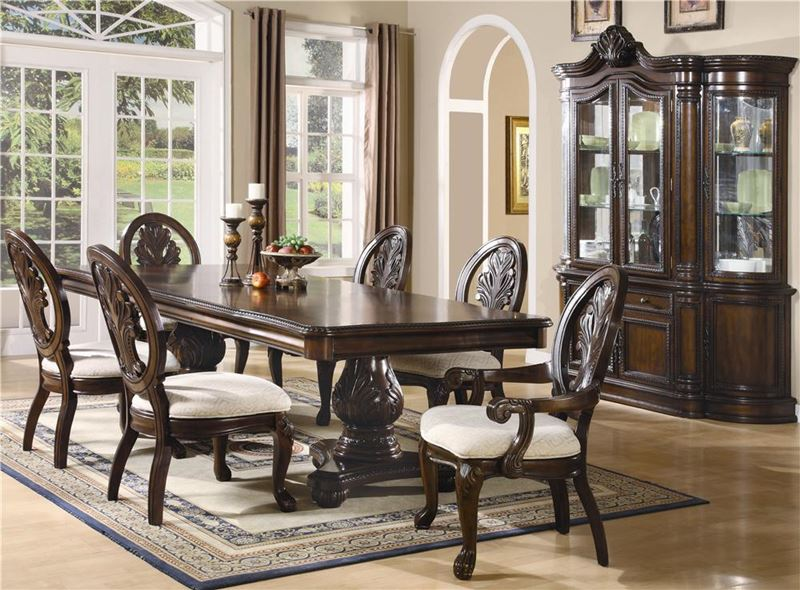 Von Furniture Tabitha Formal Dining Room Set With