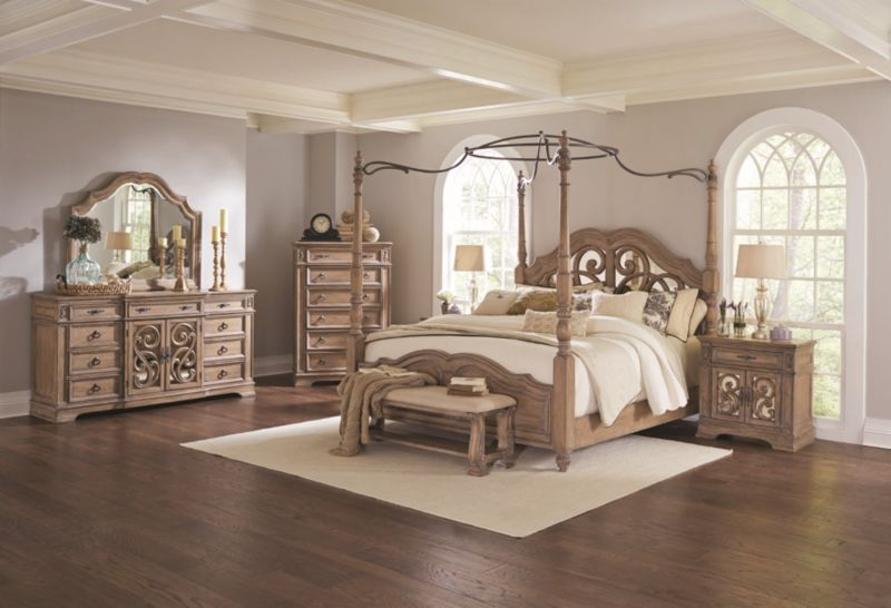 Ilana Bedroom Set with Canopy Bed