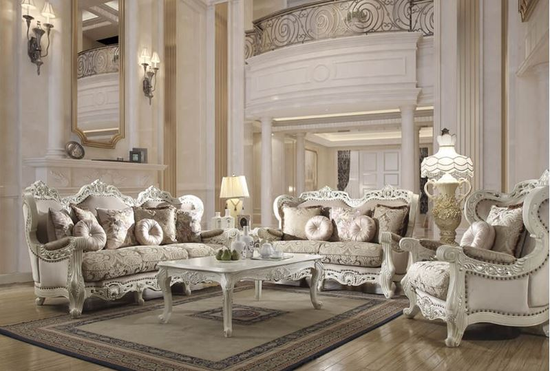Davenport Formal Living Room Set