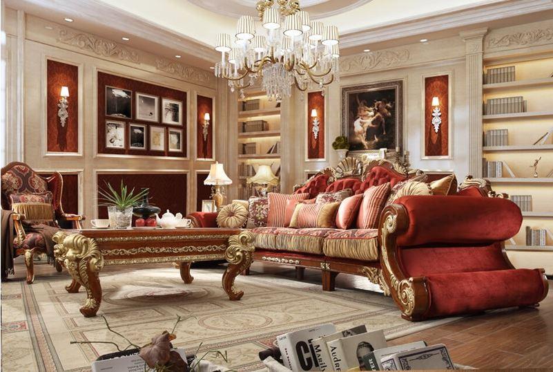 Denton II Formal Living Room Set
