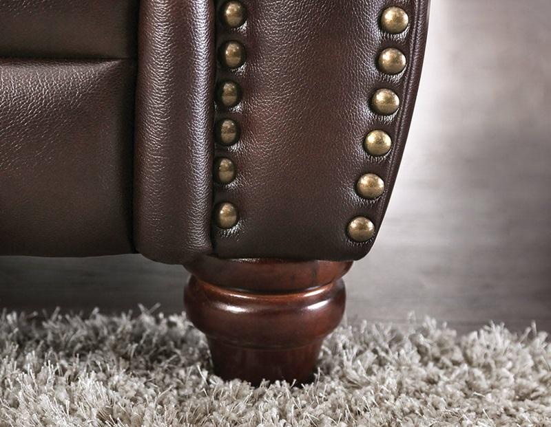Edmont Leather Living Room Set