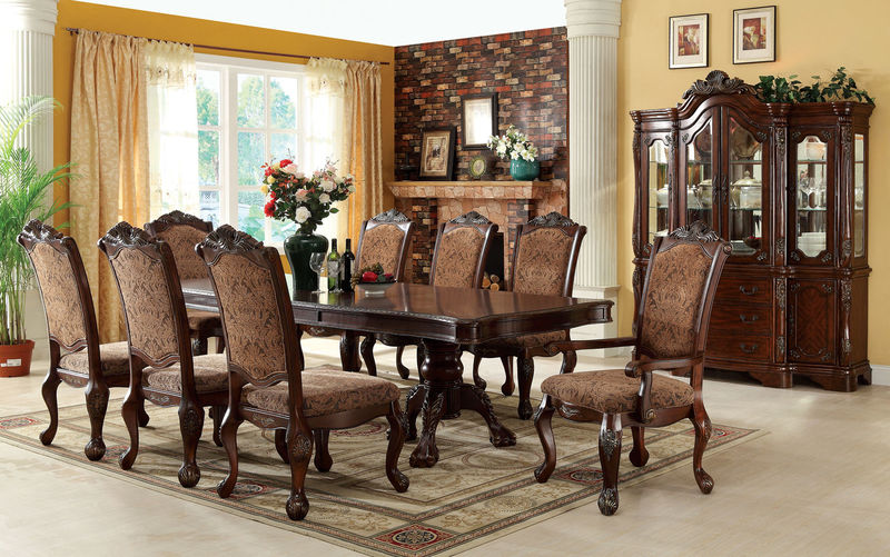Cm3103t Cromwell Dining Set Furniture Of America Free