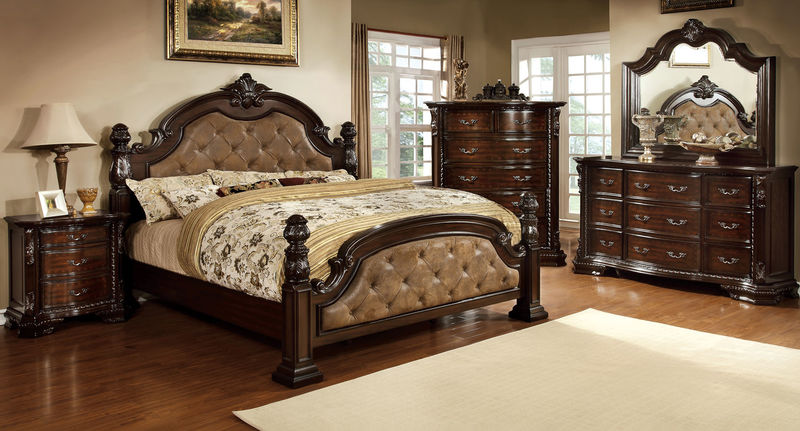 Monte Vista Bedroom Set in Brown
