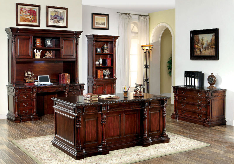 Roosevelt Computer Desk Set with Hutch