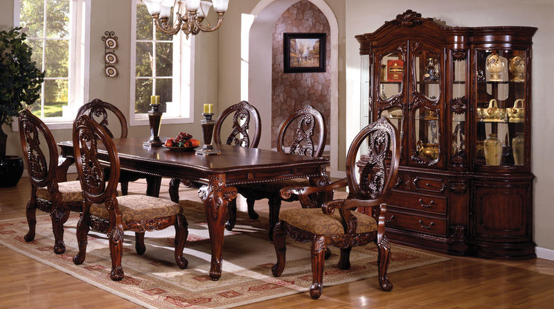 Tuscany Formal Dining Room Set in Cherry