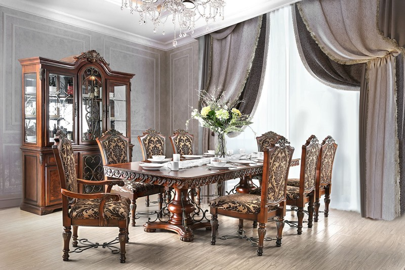 CM3788T Lucie Formal Dining Set | Furniture of America | Free Shipping