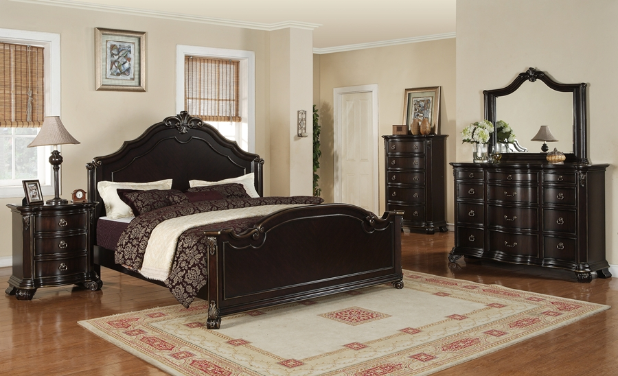 Harrison Elegant Bedroom Furniture Von Furniture