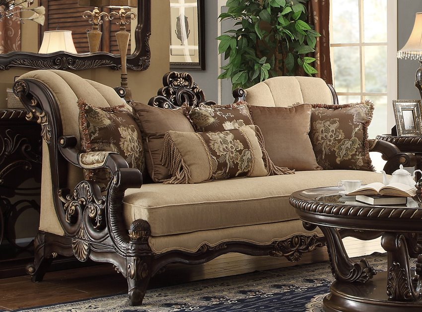 Elegant Living Room Furniture For Sale