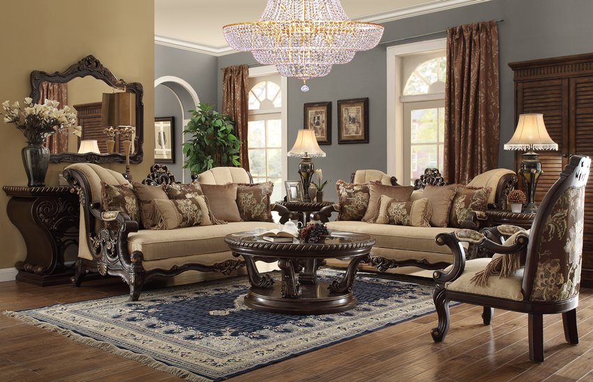 covington formal living room set the covington formal living room set