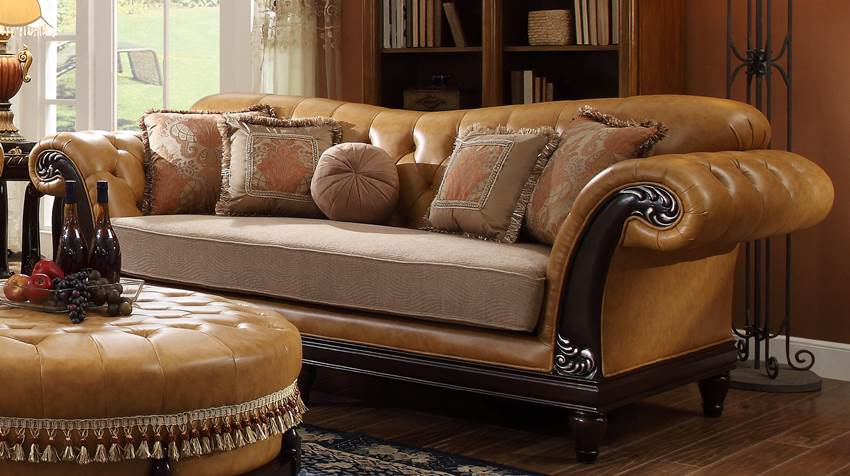 european inspired formal living room high end furniture