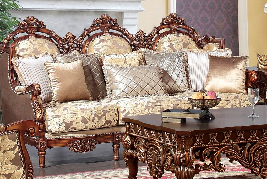 Torrance victorian formal living room set - Victorian living room set for sale ...