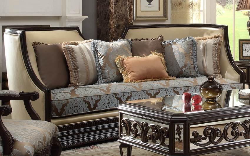 interesting formal living room furniture sets | Unique High End Formal Living Room Set | Von Furniture On Sale